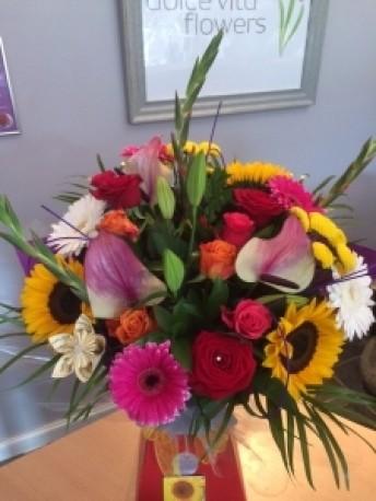 Vibrant Contemporary Bouquet