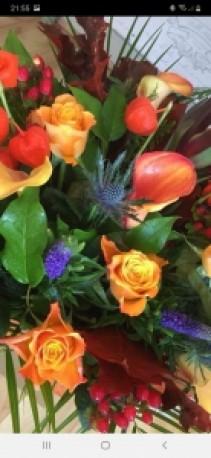 Autumnal Florist Choice