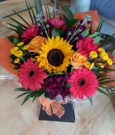 Sunflowers and Gerberas
