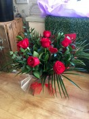 6 Standard Red Roses