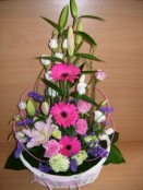 Baby Girl Arrangement 01